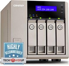 QNAP TVS-463 4 Bay NAS [TVS-463-4G] : PC Case Gear