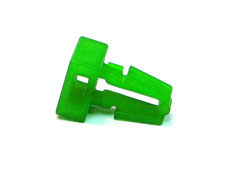 ModSmart Single Cable Tie Hole Mount - UV Green