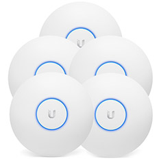 Ubiquiti UniFi AP AC Long Range 802.11ac Access Point 5 Pack