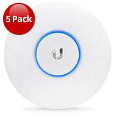 Ubiquiti UniFi AP AC Lite 802.11ac Access Point 5 Pack