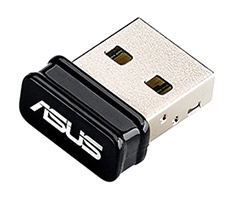 ASUS USB-N10 Wireless 150 USB Nano Adapter