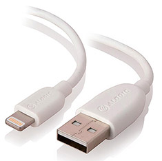 Alogic USB to Lightning Cable with Charge & Sync 1m