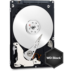 Western Digital WD Black 2.5in 500GB HDD