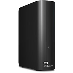 Western Digital Elements Desktop USB 3.0 4TB External HDD