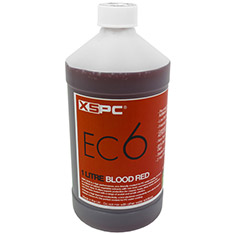 XSPC EC6 Liquid Cooling Coolant Blood Red