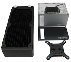 XSPC Rasa 750 RX240 Universal CPU Water Cooling Kit