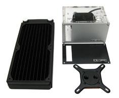 XSPC Rasa 750 RS240 Universal CPU Water Cooling Kit