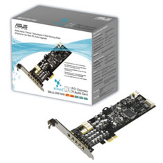 ASUS Xonar DX PCIe 7.1 Low Profile Sound Card