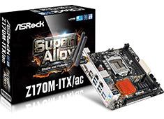ASRock Z170M-ITX/ac Motherboard
