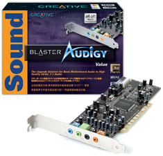 CREATIVE SOUNDBLASTER AUDIGY VALUE 7.1 WINDOWS VISTA DRIVER DOWNLOAD