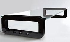 U-Board Smart Monitor Stand Black