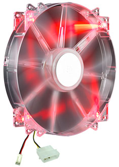 CoolerMaster CM Storm Force Red LED 200mm