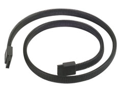 Silverstone CP07 180 Degree SATA III Sleeved Cable 50cm