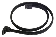 Silverstone CP08 90 Degree SATA III Sleeved Cable 50cm