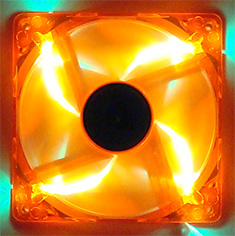 Deepcool 120mm Orange LED Fan