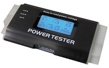 how to use power supply tester