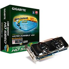 Gigabyte ATI Radeon HD5850 Overclocked Edition