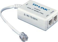TP-Link TD-S201A ADSL 2+ Splitter / Filter