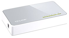 TP-Link SF1008D 8 Port 10/100 Switch