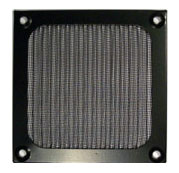 80mm Aluminum Filter Black