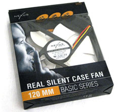 Nexus Real Silent 120mm Case Fan