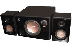 Swan M10 Powered 2.1 System Black