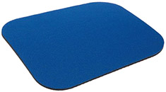 Generic Mouse Pad - Blue Cloth