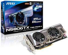 MSI GeForce GTX 580 Twin Frozr II Overclocked