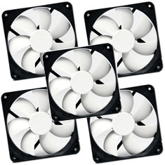 Nexus Real Silent 120mm Fans (5 pack)