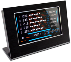 NZXT Sentry LXE Touch Screen Desktop Fan Controller