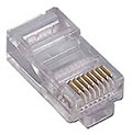 RJ45 Head Plug for Stranded Cable (Pack of 10)