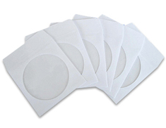 CD/DVD Paper Sleeves 100 Pack