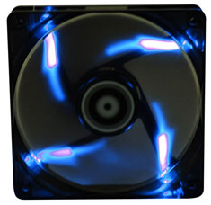 BitFenix Spectre PWM 120mm Black Tinted Blue LED Fan