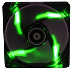 BitFenix Spectre 120mm Black Tinted Green LED Fan