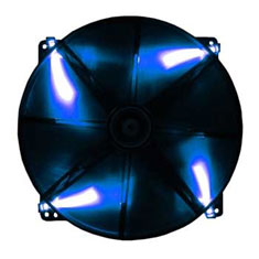BitFenix Spectre 200mm Black Tinted Blue LED Fan