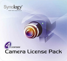 Synology Camera Four License Pack