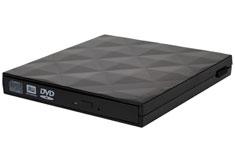 Silverstone TS06 External USB Slim Optical Drive Enclosure Black
