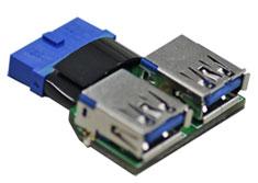 Lian Li UC-01 USB 3.0 to 20pin Adapter