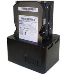 USB Dual Disk Dock (IDE/SATA)