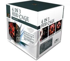 Xigmatek 4-in-3 HDD Cage CCA-EMFCB-U01
