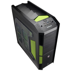 Aerocool X-Predator Case Green Edition