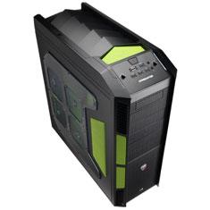 Aerocool X-Predator Case Green Edition